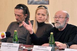 Станислав Слободянюк, Мария Грачева и Владимир Портнов ©Фото Юга.ру