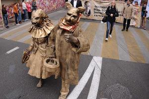 Литературное шествие приуроченное ко Дню города в Краснодаре ©Фото Юга.ру