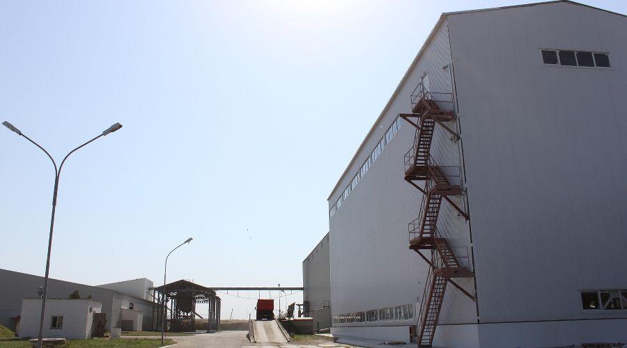 Ладожский кукурузокалибровочный завод ©Фото пресс-службы агрохолдинга «Кубань»