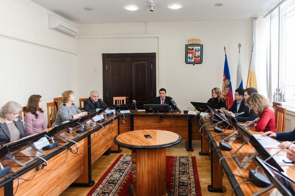 Обсуждение нового генплана в мэрии Краснодара ©Фото пресс-службы администрации Краснодара