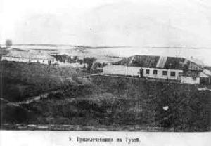 Грязелечебница на косе Тузла, Тамань
