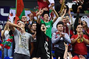 ПБК «Локомотив-Кубань» обыграл «Альбу» в матче Еврокубка ©Фото Елены Синеок, Юга.ру