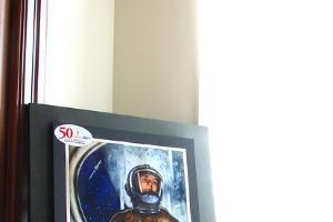 """Выставка """"50 лет в Космосе: летопись покорения"""" ©Фото Юга.ру"""