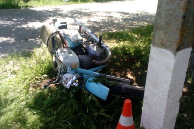 17-летний мотоциклист без прав умер вжутком ДТП наСтаврополье