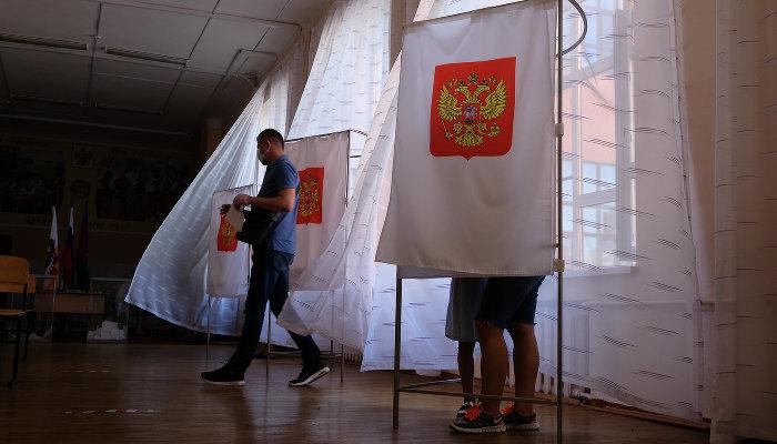 Первый день голосования навыборах депутатов Госдумы