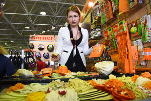 Выставка пищевой продукции и виноделия в Краснодаре ©Елена Синеок, ЮГА.ру