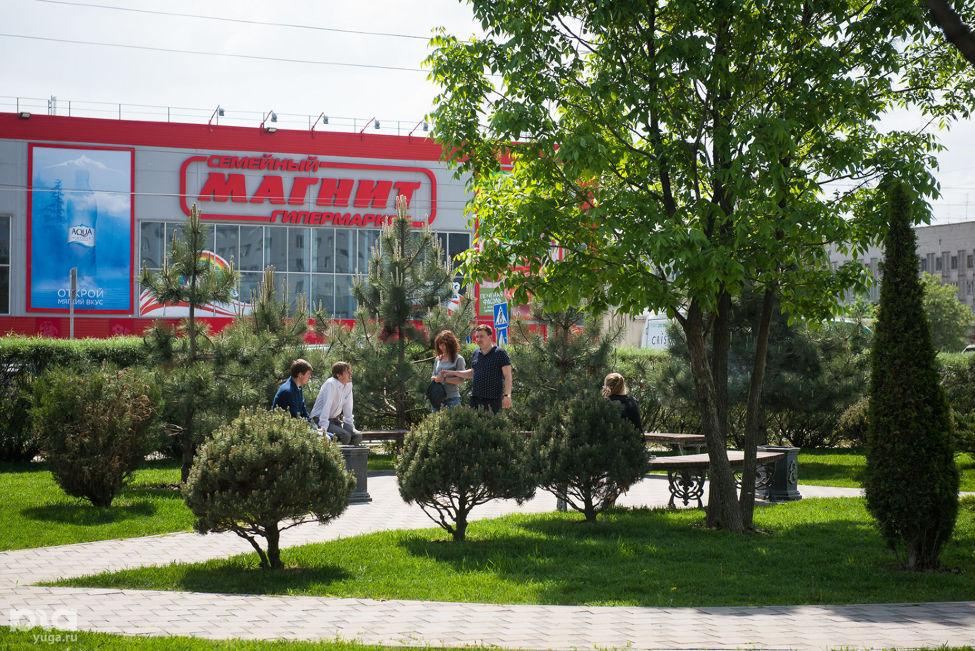 Головной офис компании «Магнит». Тандер-парк ©Фото Елены Синеок, Юга.ру