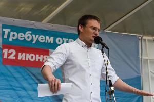 Митинг сторонников Навального в Краснодаре. Михаил Беньяш ©Фото Елены Синеок, Юга.ру