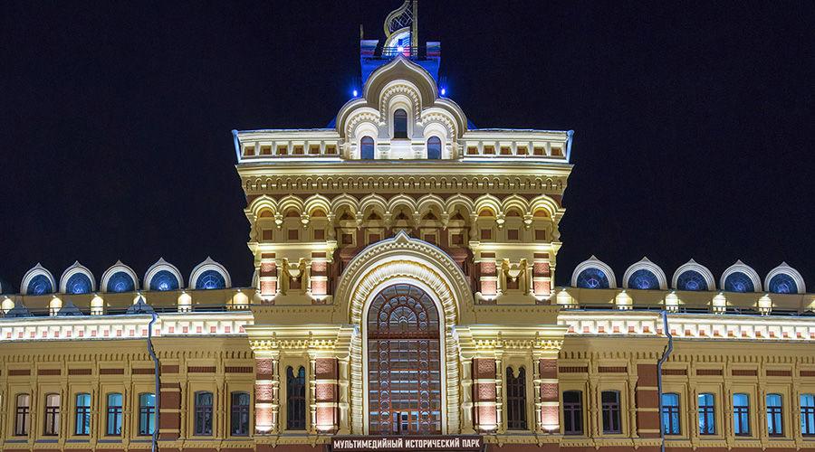 Нижегородская ярмарка ©Фото администрации Нижегородской области