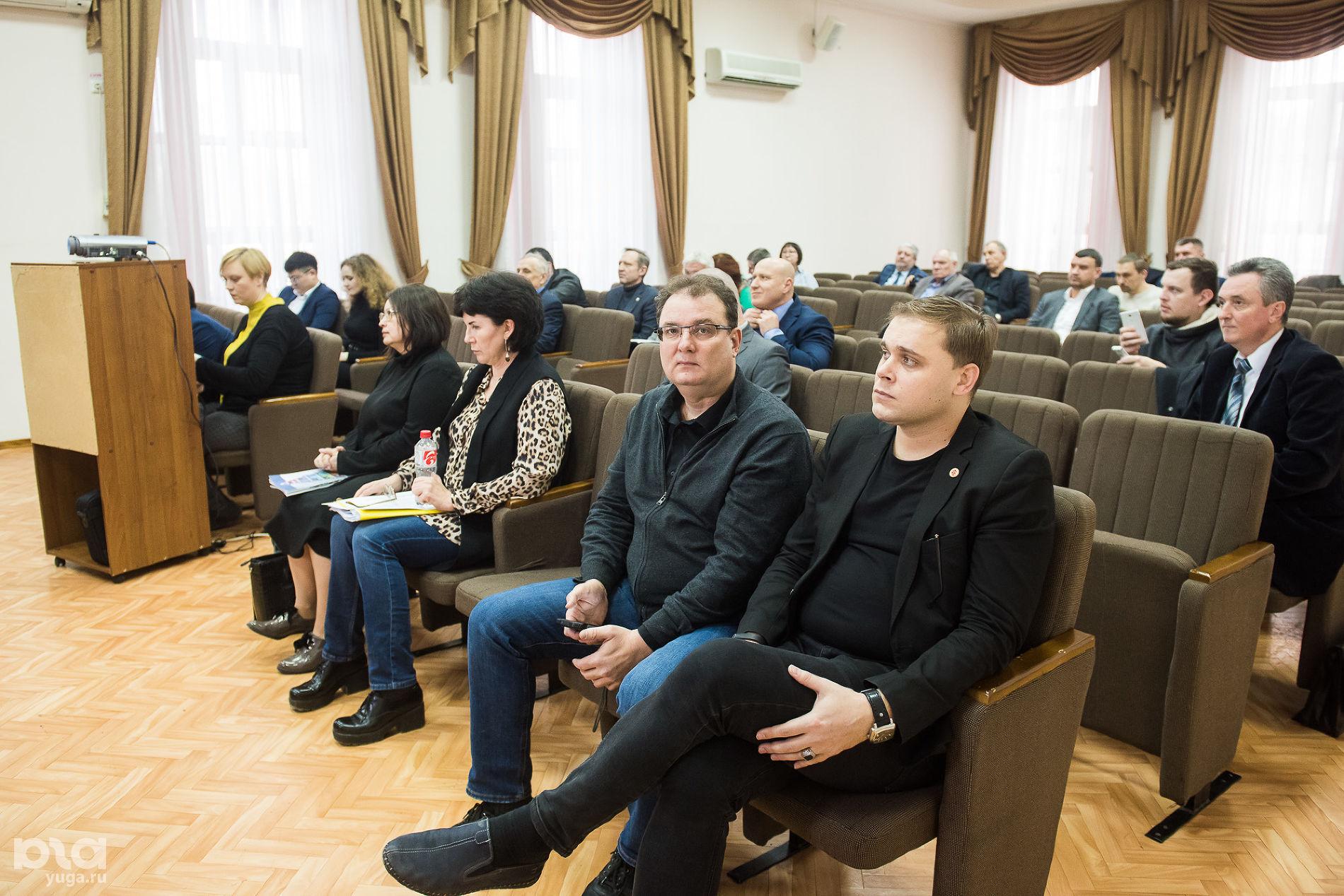Заседание научно-методического совета ©Фото Елены Синеок, Юга.ру
