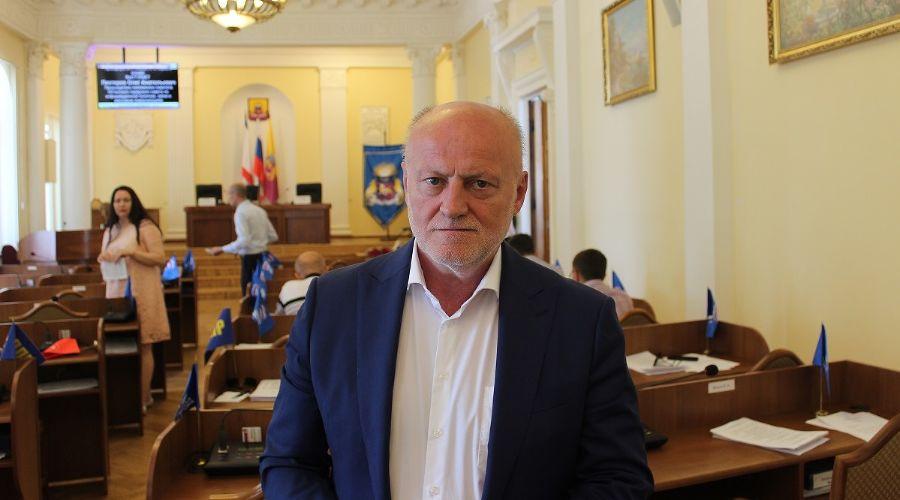 Иван Имгрунт ©Фото пресс-службы администрации Ялты