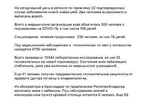 ©Скриншот из телегам-канала пресс-службы администрации Краснодарского края, https://tmtr.me/admkrai