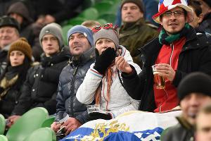 ФК «Краснодар» обыграл «Фенербахче» в первом матче 1/16 Лиги Европы  ©Фото Елены Синеок,Юга.ру