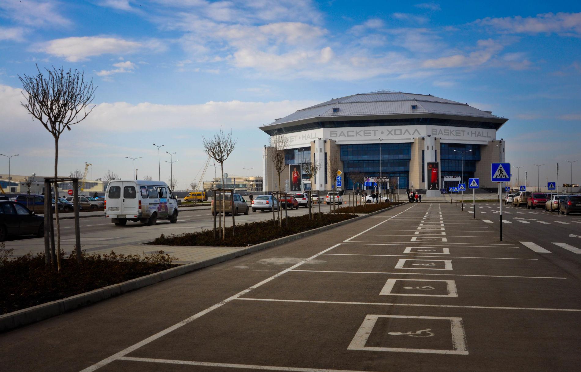 СК «Баскет-холл» в Краснодаре