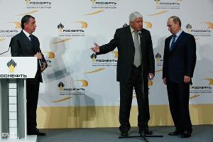 Владимир Путин посещает Туапсинский НПЗ (октябрь 2013) ©Влад Александров, ЮГА.ру