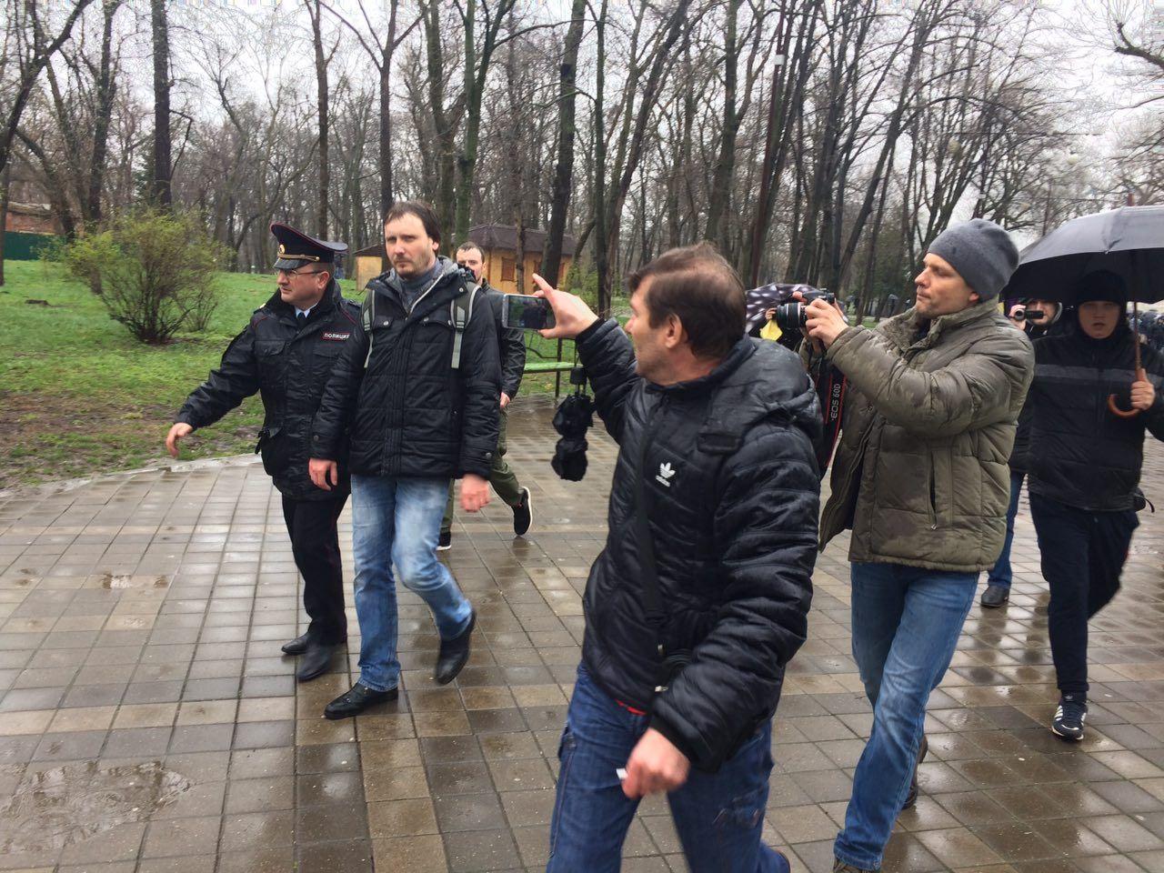 ВКраснодаре впроцессе несанкционированного митинга задержали 90 человек