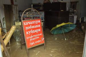Последствия наводнения в Сочи ©Роман Чугунов, ЮГА.ру
