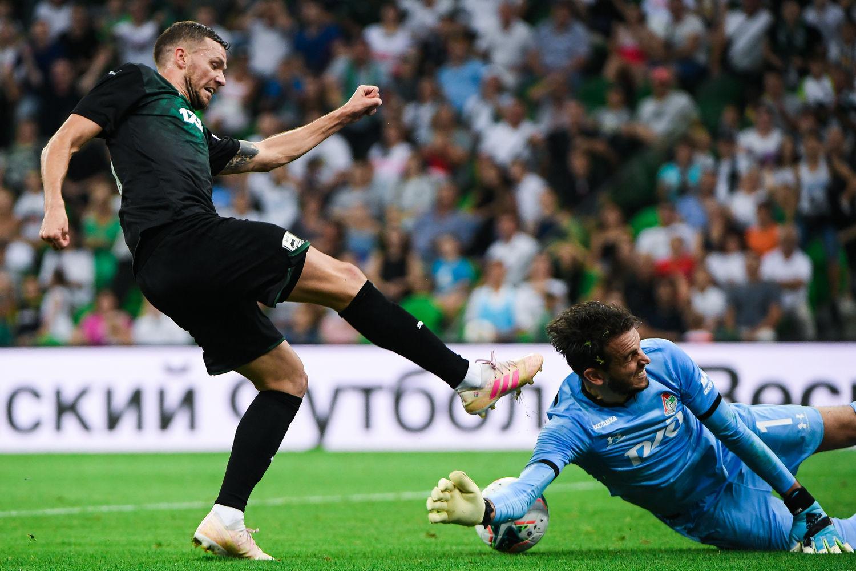 Матч «Краснодар» — «Локомотив» ©Фото с сайта fckrasnodar.ru