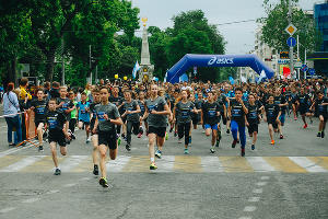 Марафон RUN ASICS KRASNODAR 2017 © Фото Дениса Яковлева, Юга.ру