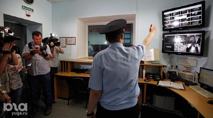 В Краснодаре проверили готовность транспортной полиции к лету ©Фото Влада Александрова, Юга.ру