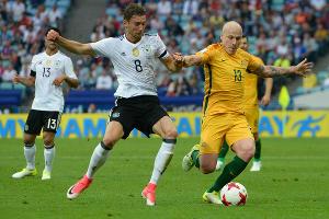 Матч Кубка конфедераций между сборными Германии и Австралии ©Фото Никиты Быкова, Юга.ру