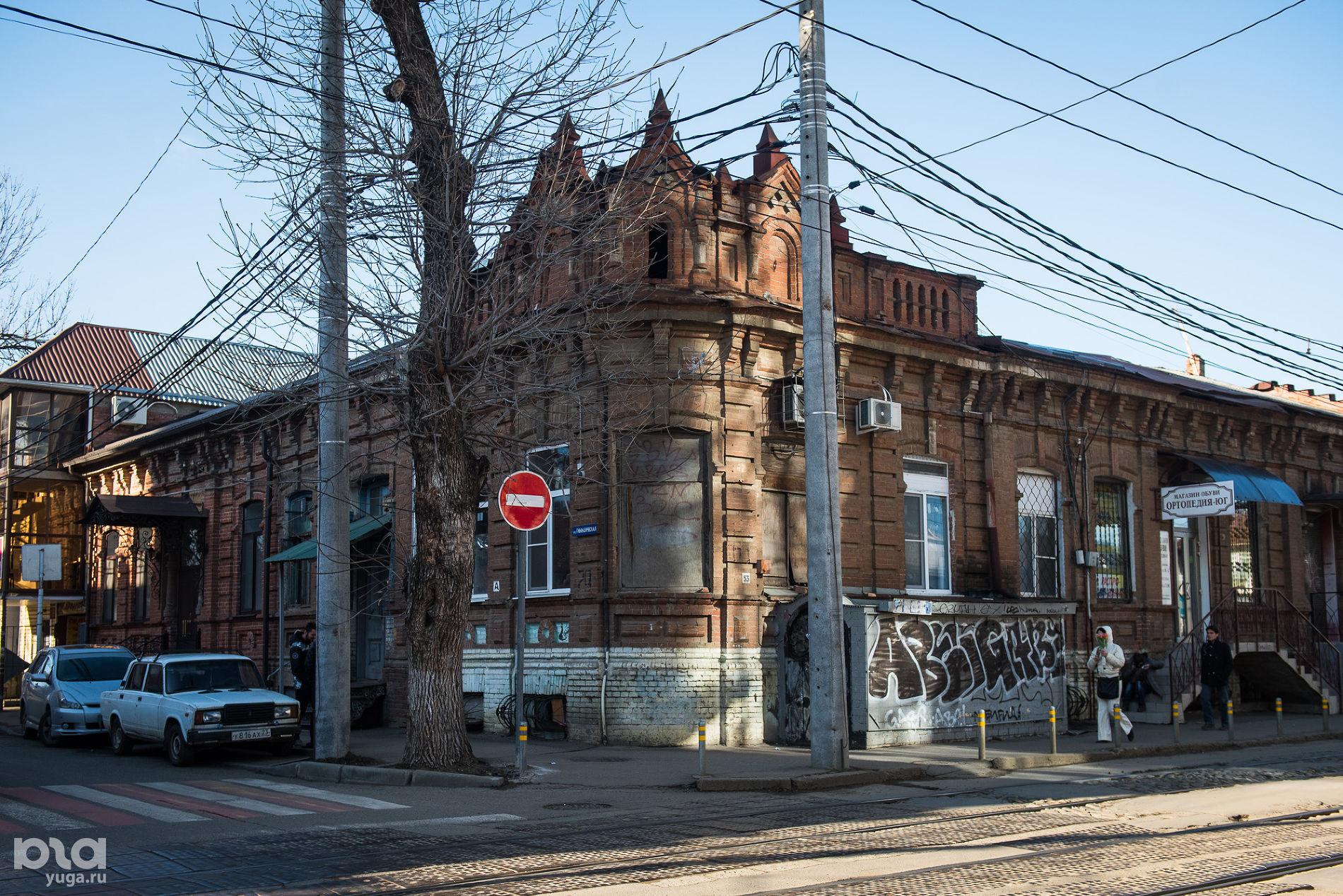 Коммунаров, 63. Дом жилой, конец XIX в. ©Фото Елены Синеок, Юга.ру