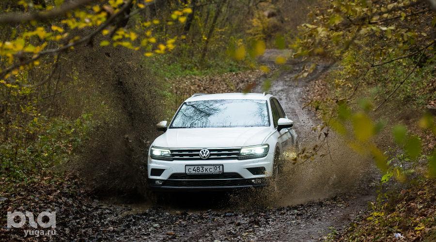 На Volkswagen Tiguan к Медвежьей горе ©Фото Елены Синеок, Юга.ру