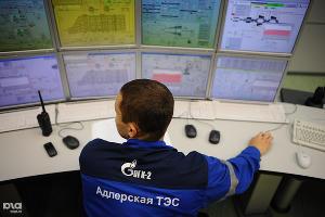 Открытие Адлерской ТЭС в Сочи  ©ЮГА.ру, Нина Зотина