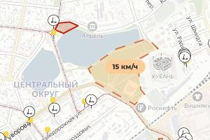 ©Скриншот карт приложения Whoosh