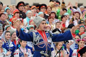 Кубанский казачий хор ©Елена Синеок. ЮГА.ру