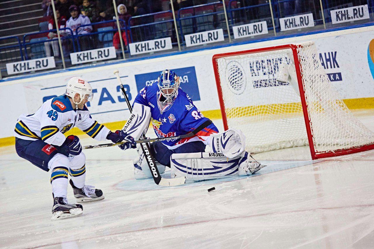 Магнитогорский «Металлург» прервал серию изчетырех побед вКХЛ, проиграв «Сочи»