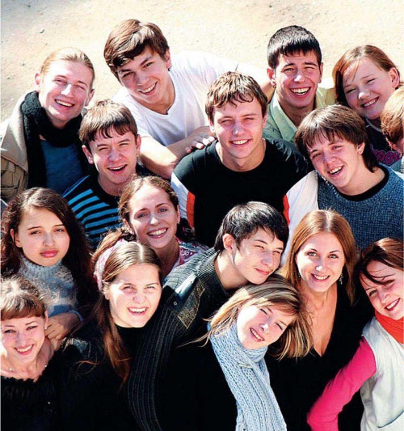 Студенты в озере 20 фотография