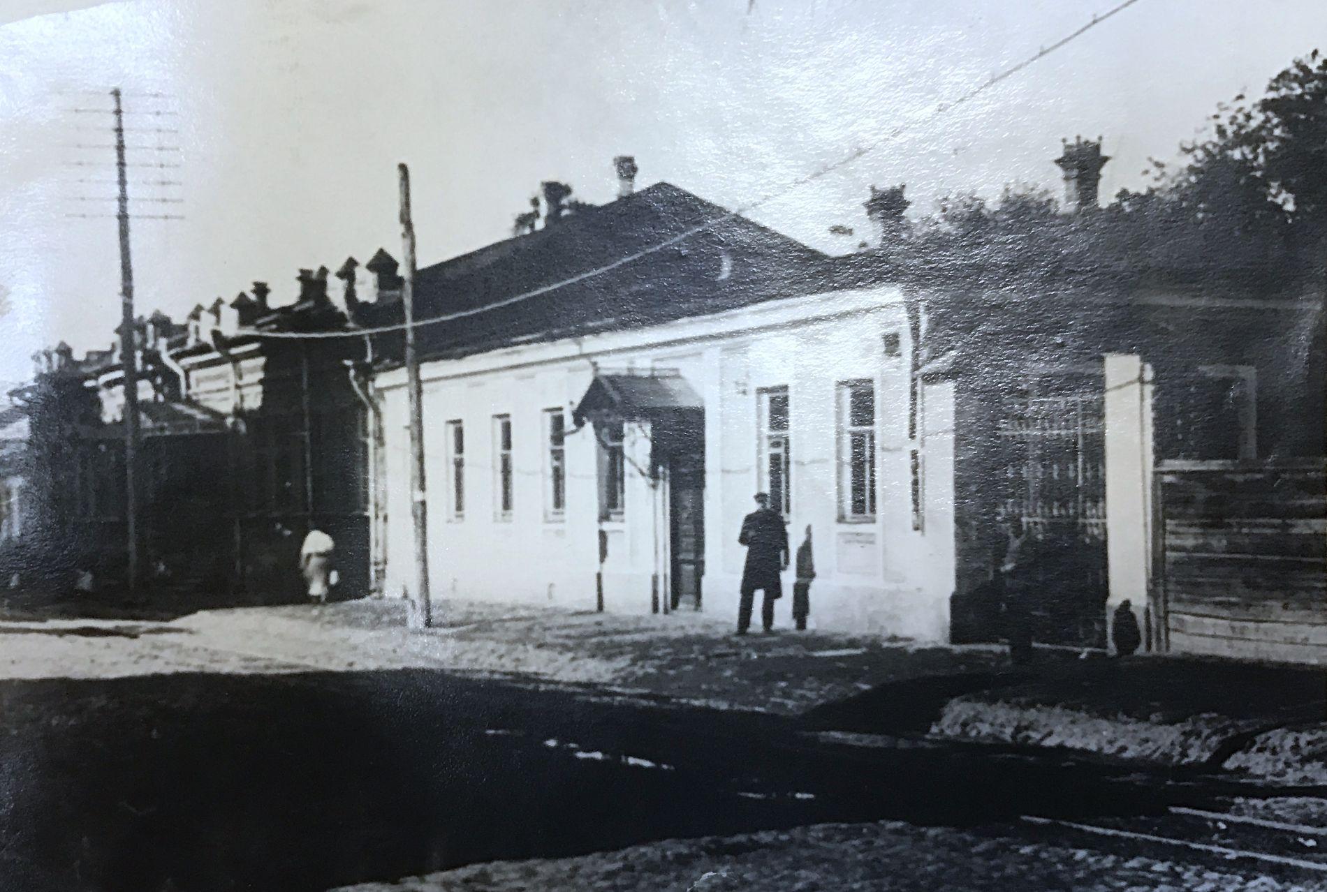 Типография И. Ф. Бойко, фото начала XIX века. Сейчас здание находится на ул. Карасунской, 73