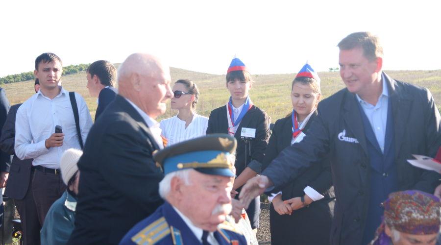 """Открытие """"Аллеи памяти"""" в Анапе ©Фото Юга.ру"""