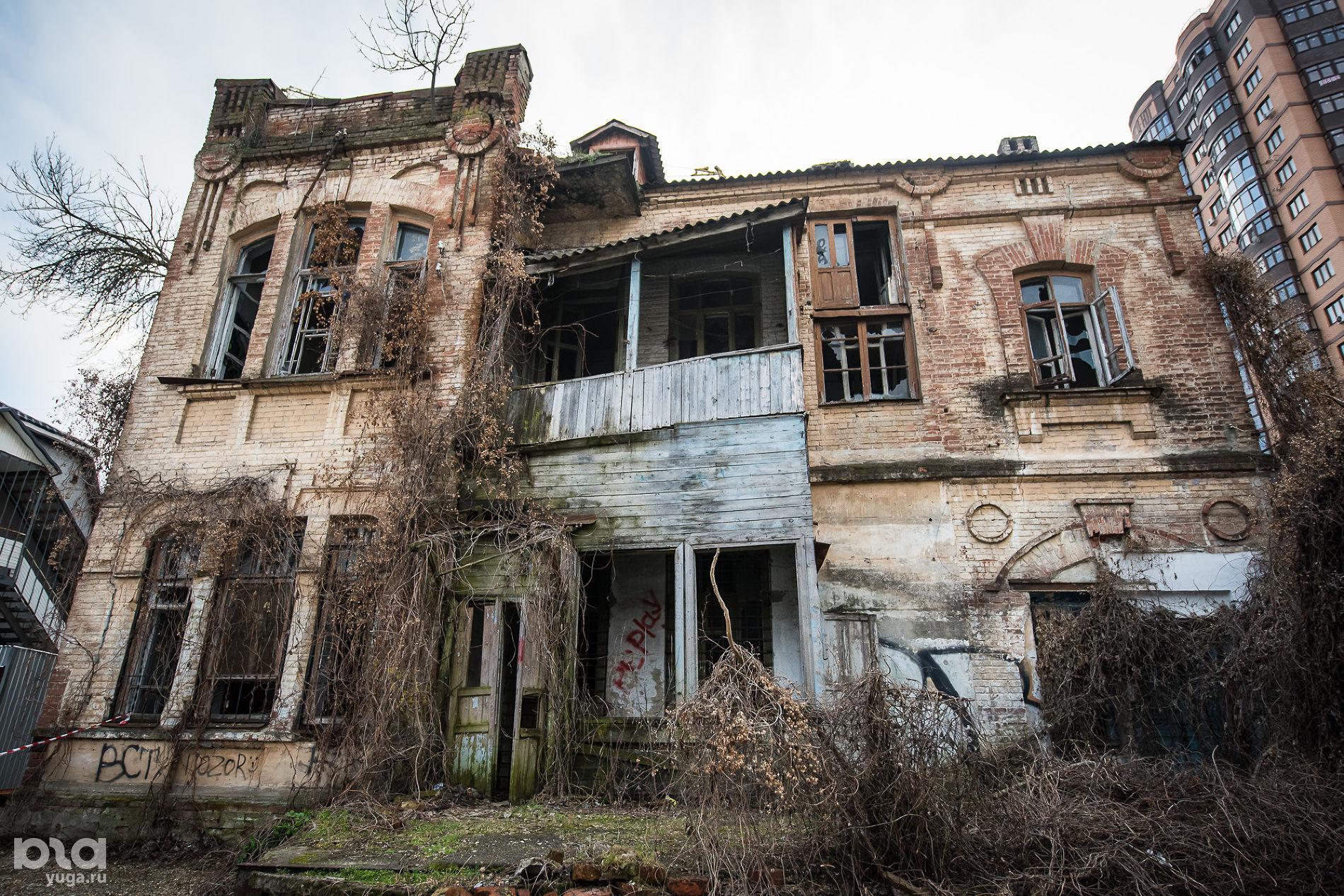 Кондратенко, 13. Дом архитектора А.П. Косякина, 1906–1910 гг. ©Фото Елены Синеок, Юга.ру