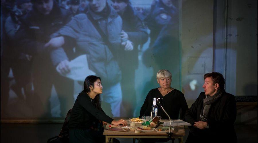Спектакль «Правозащитники» ©Фото Дениса Бочкарева, facebook.com/denfoto