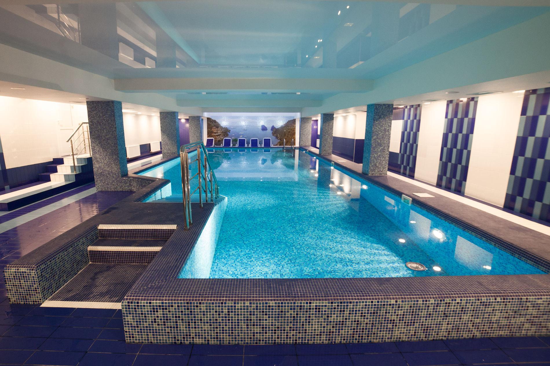 Индивидуальный проект бассейна в гостинице «Интурист», Краснодар