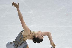 Аделина Сотникова завоевала золотую медаль на Играх в Сочи ©РИА Новости