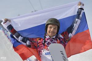Сноубордист Вик Уайлд завоевал две золотые награды Игр-2014: в параллельном слаломе и слаломе-гиганте ©РИА Новости