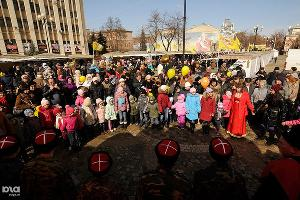 Проводы масленицы в Краснодаре ©Сергей Карпов. ЮГА.ру
