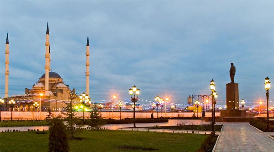 Грозный. Мечеть Сердце Чечни. Фото: grozny.moy.su ©Фото Юга.ру