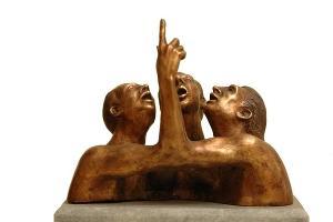 Скульптура Андрея Новоженова ©Фотография предоставлена Ингой Пилипас