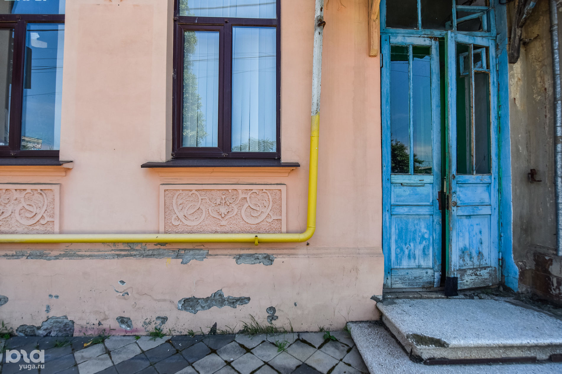 Кирова, 38. Дом жилой, начало XX в. ©Фото Елены Синеок, Юга.ру