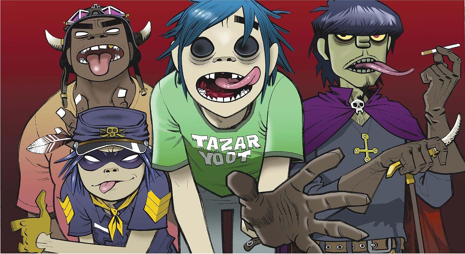 Группа Gorillaz обнародовала название идату выпуска нового альбома