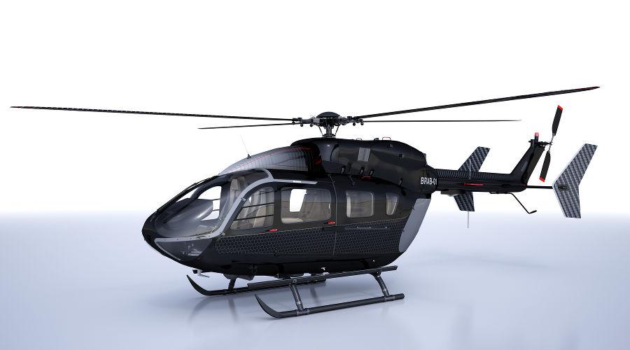 Вертолет ВК117 С-2 (ЕС-145) ©http://www.brabus-aviation.com