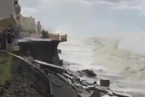 ©Скриншот видео из телеграма «ЧП Сочи», t.me/chp_sochi
