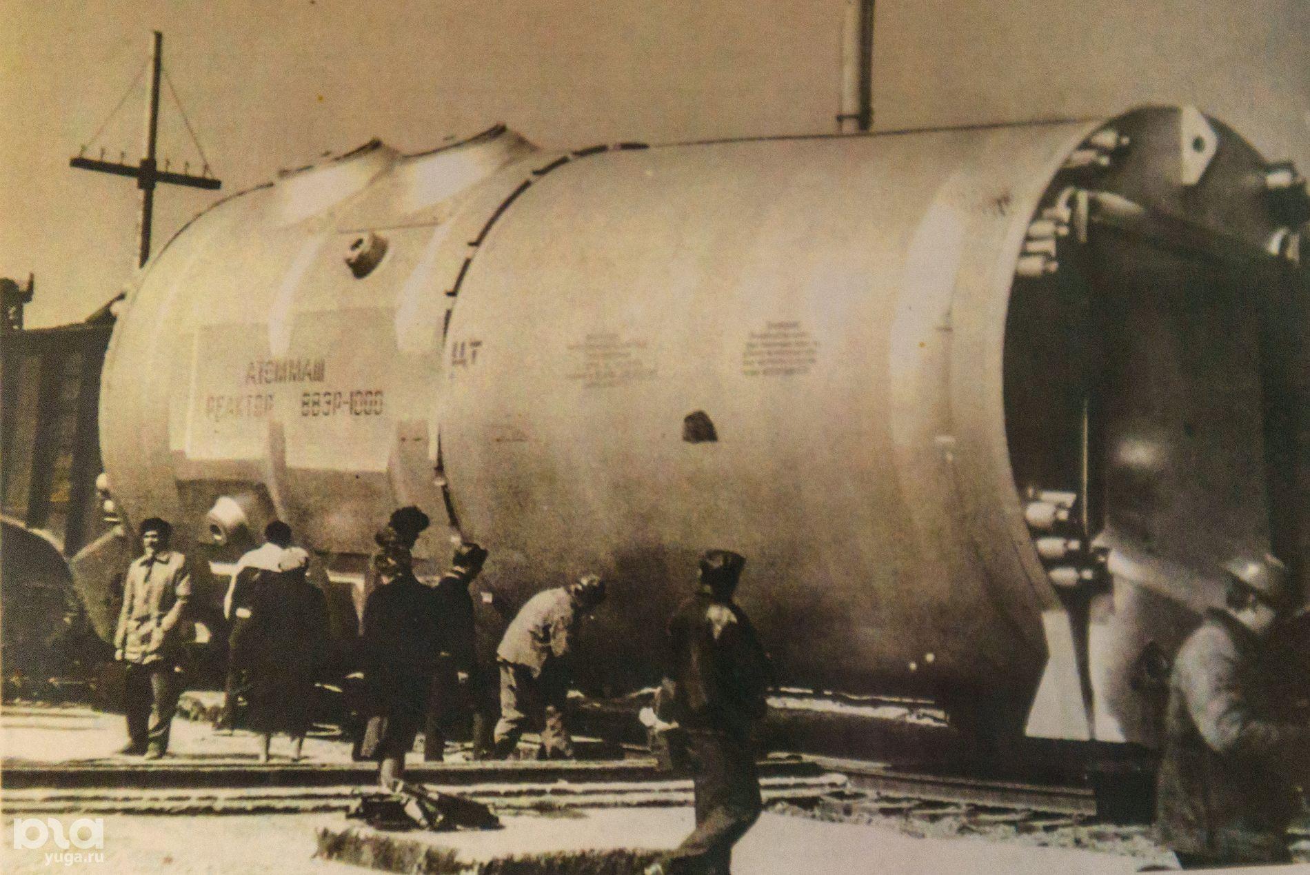 Реактор ВВЭР-1000 на стройплощадке Крымской АЭС в окрестностях Щелкино ©Фото из архива Виталия Торопова