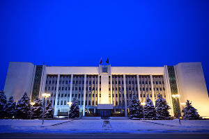 Здание Правительства Республики Адыгея ©Фото Алексея Гусева, пресс-служба главы Республики Адыгея