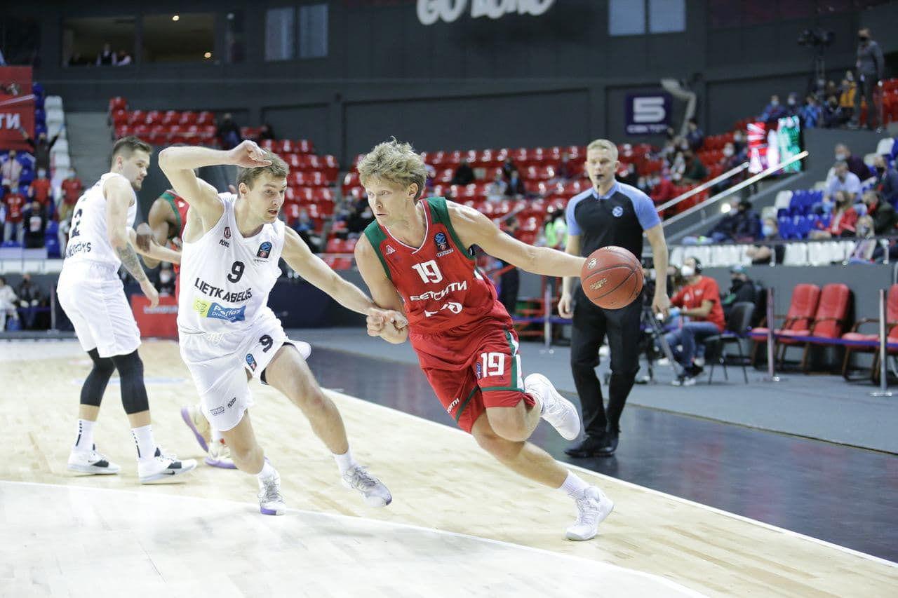 «Локомотив-Кубань» снова обыграл «Леткабелис» в матче Еврокубка