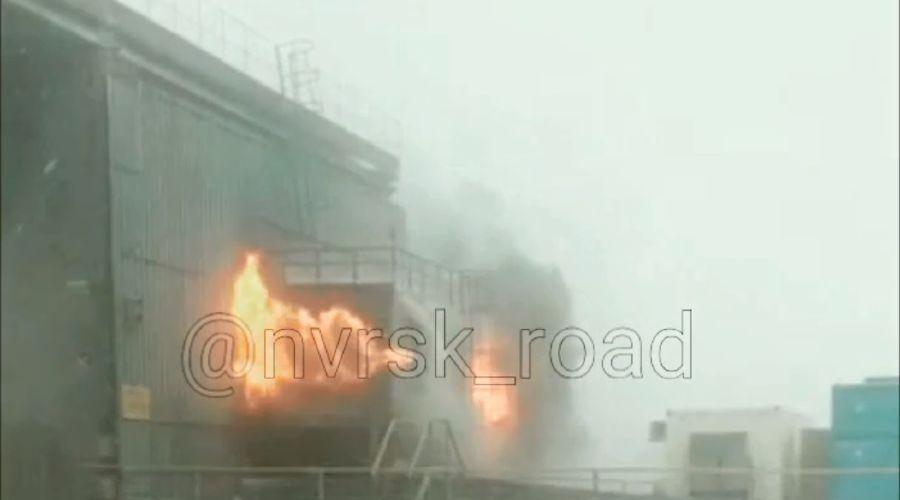 ©Скриншот из видео со страницы vk.com/nvrsk_road